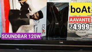 boAt AAVANTE 1550 Wireless Bluetooth Soundbar Sound Test & Review   boAt AAVANTE 120w Soundbar