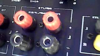 Bass test with my Konzert 8 Inch sub