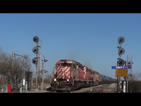 Epic time railfanning Bensenville, IL on 4-11-15