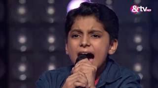 Abhijat Bhatt - Blind Audition - Episode 8 - August 14, 2016 - The Voice India Kids