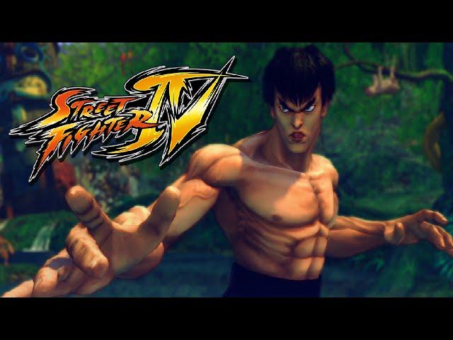 Street Fighter Iv: Zerando Com Fei Long No Arcade - (gameplay No Ps3)