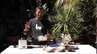 Making Lsa With Pete Evans And The Ceramic Pro + Juicer, Food Processor