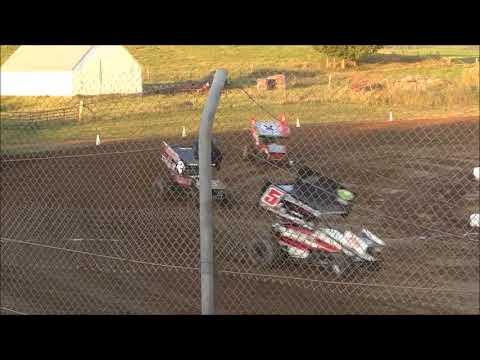 Ohio Valley Sprint Car Association Heat #1 from 35 Raceway Park, September 2nd, 2018.