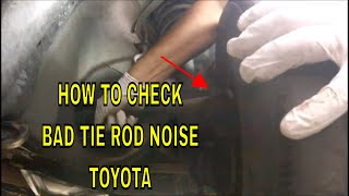 Tie Rod End Noise #Bad Tie Rod end#How to Tell if tie Rods are bad#Replace