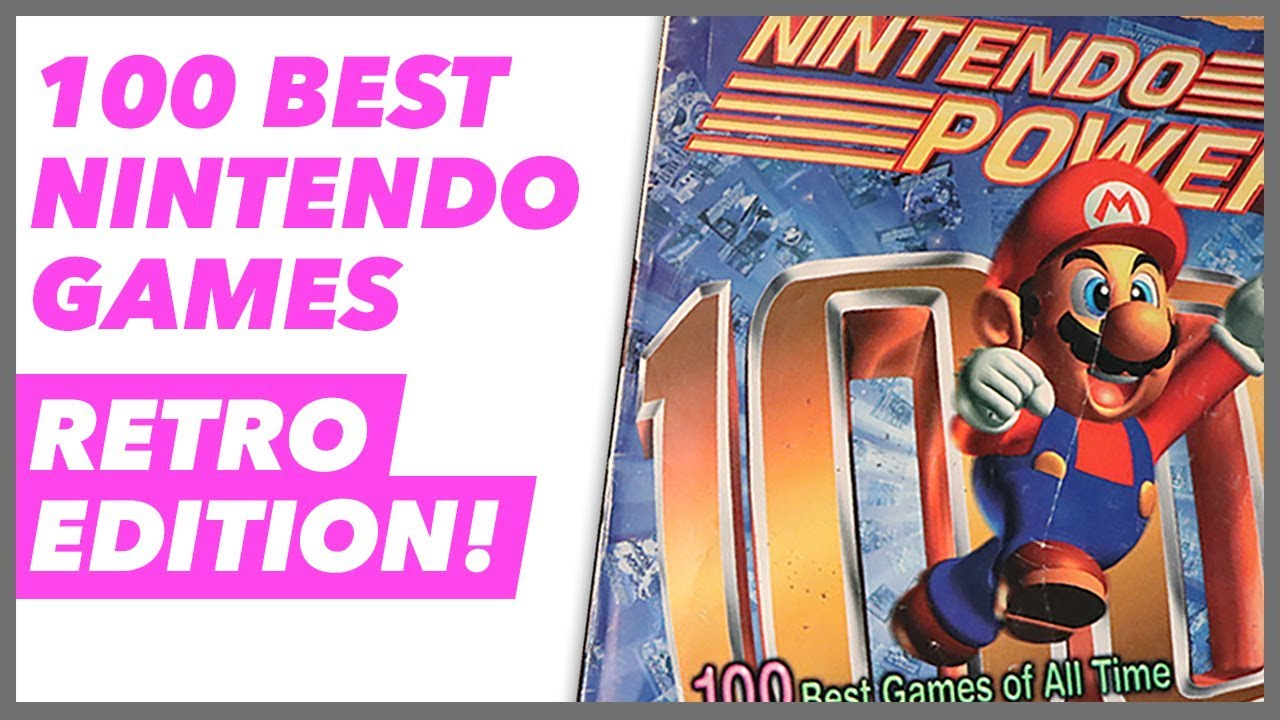 Nintendo Power's 100 Best Games of All Time - The Nintendo ...