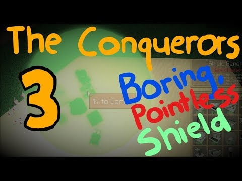 ROBLOX The Conquerors 3 4v4 - Renting the Boring Shield