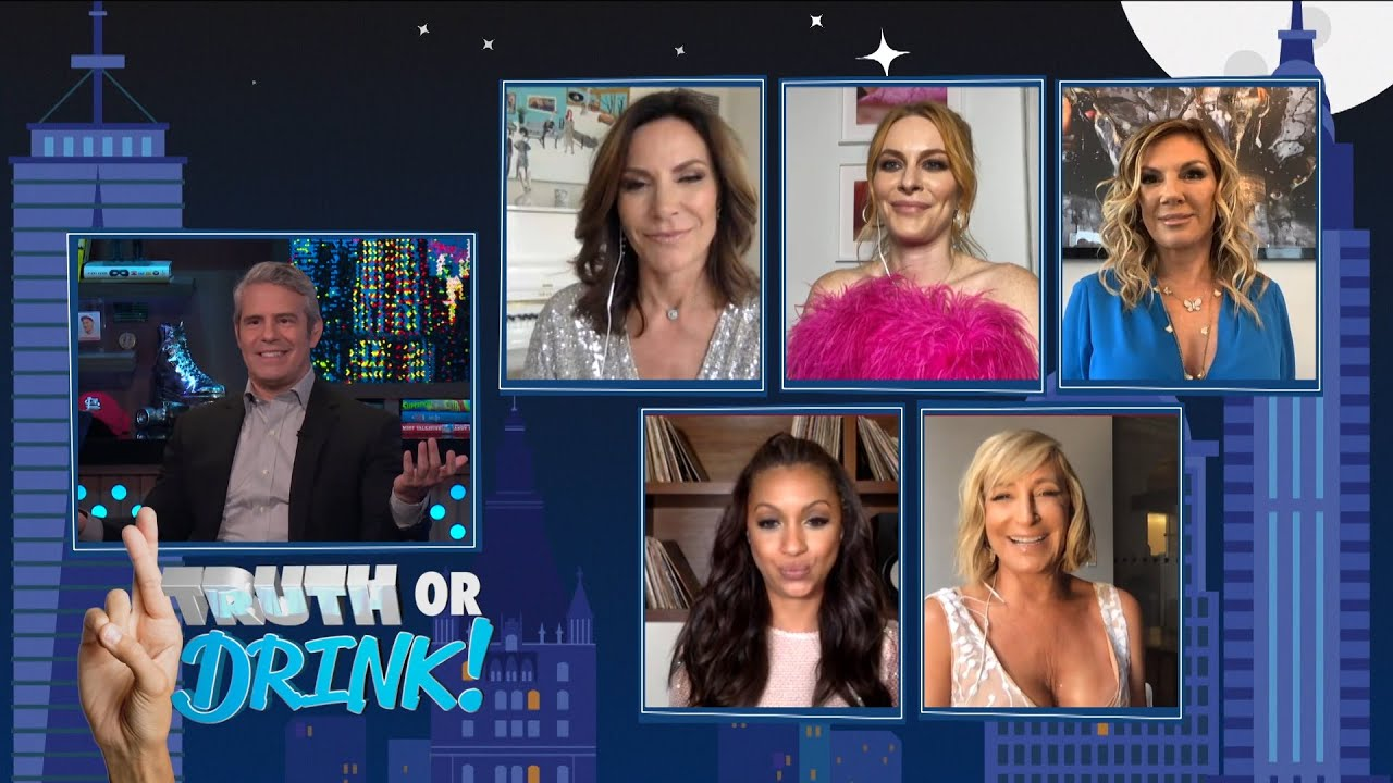 The RHONY Housewives Play Truth or Drink! | WWHL