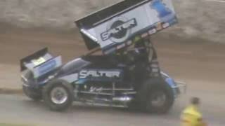 sammy swindell and jamie mcdonald argument after race at western springs