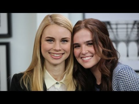 Meet Zoey Deutch and Lucy Fry, the Girls of Vampire Academy