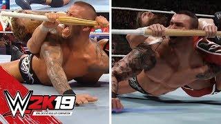WWE 2K19 vs Real Life Comparison (Daniel Bryan 2K Showcase)