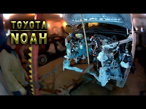 #82 [Toyota Noah] Полный ремонт за 9 минут Body Repair