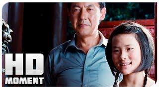Дре пришел к Мей и её отцу - Каратэ-пацан (2010) - Момент из фильма