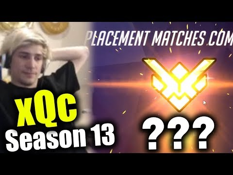 xQc Season 13 Placements LAST GAME + Duo with Moxy