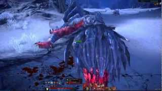 Repeat youtube video TERA Online Warrior Lv 60 World Boss solo: Yunaras Snaggletooth (Barsicore)