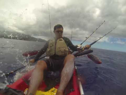maui kayak fishing 2016