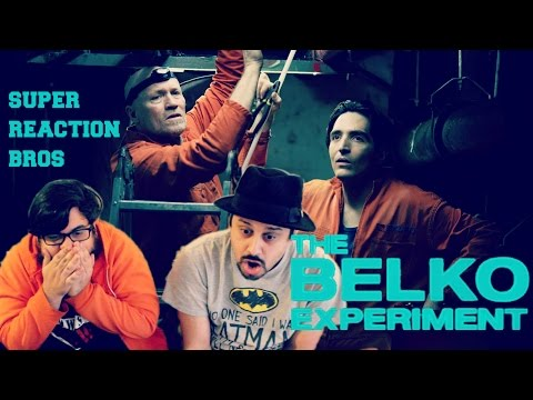 SUPER REACTION BROS REACT & REVIEW The Belko Experiment Official Trailer 3!!!!