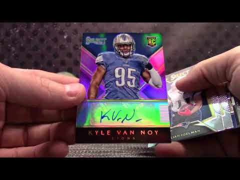 Kevin's 2014 Select, 2017 Unparalleled NFL & 16/17 Select NBA 3 Box Break