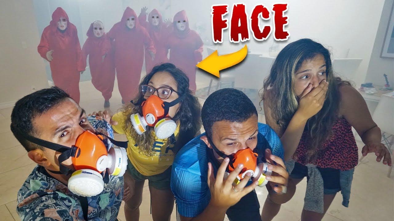 O FACE NOS SUFOCOU COM A FUMAÇA! - (MUITO ASSUSTADOR) - KIDS FUN