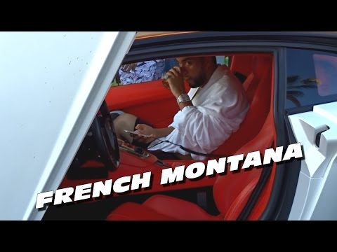 FRENCH MONTANA Cruising With TWO Lamborghini Aventador in CANNES !
