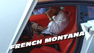 french montana cruising with two lamborghini aventador in cannes