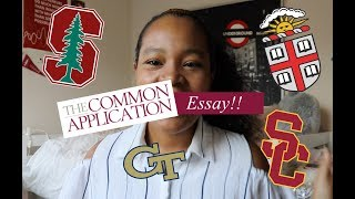 Reading My Common App Essay (Accepted at Ivy League, Stanford, USC, etc.)