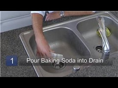 Kitchen Appliance Cleaning : How to Use Baking Soda as a Drain Cleaner
