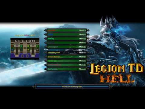 Warcraft 3 The Frozen Throne | Legion TD Hell v3.94 - Hilarious Game LVL30 | [HD]