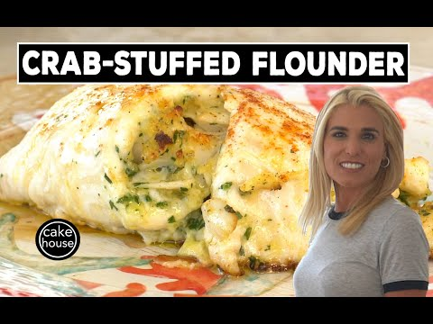 Delicious Crab-Stuffed Flounder|Lisa's Home Cooking EP16