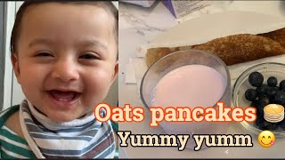 Oats Pancakes  Healthy &amp Easy To Make Recipe For Kids  Baby Food Recipe  Tanzinas Moments
