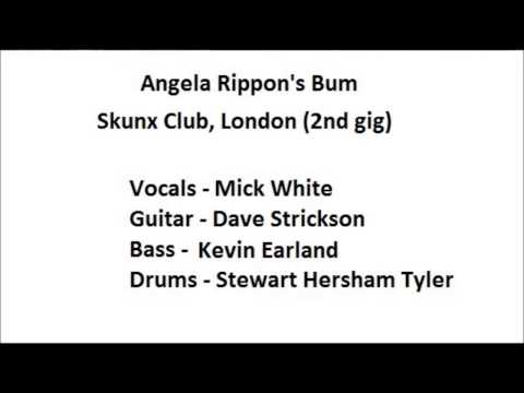 Angela Rippon's Bum - Skunx Club, London (2nd gig)