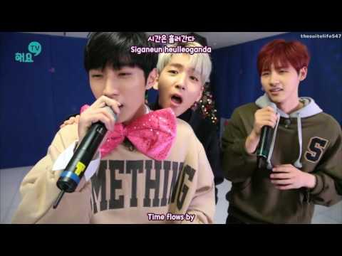 Jinyoung & CNU - Love Then [Haeyo TV] (16.12.13) {Hangul, Romanization, Eng Sub}