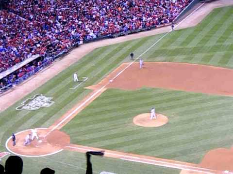 David Freese 2011 World Series Game 6 Triple in Bottom of 9th