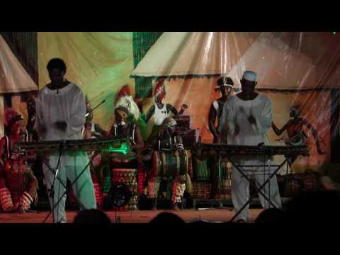 les ballets africains - concert in Conakry part 2 (January 2014)
