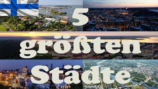 5 größten Städte - Finnland | Nordika
