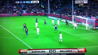 Barcelona vs. Mallorca (5-0)29 _10_2011