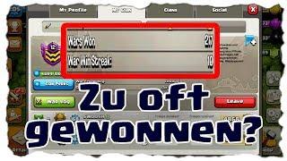 ZU OFT GEWONNEN? - ODER DOCH ALLES NORMAL? | Clash of Clans Deutsch | Let´s Play COC
