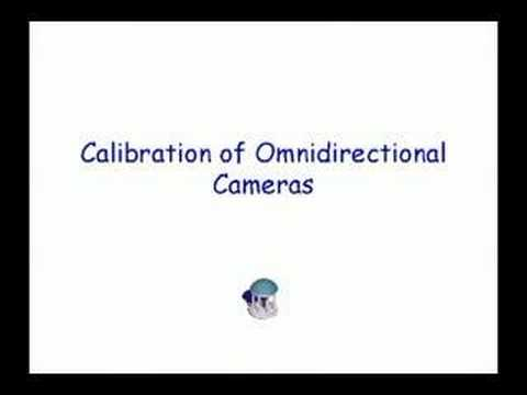 Calibration of PTZ and omnidirectional cameras