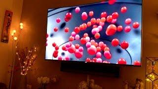 TV Wall Makeover - Mounting a Samsung UE65KS9000 & Sonos Playbar