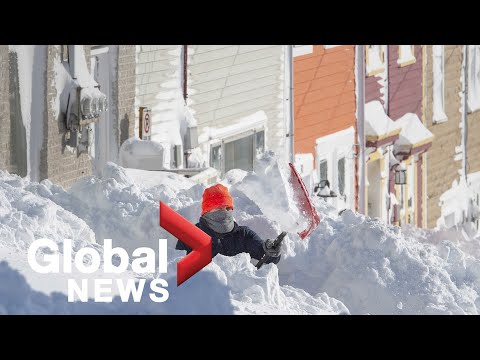 Powerful storms hit eastern and Atlantic Canada, U.S.
