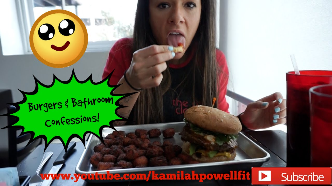 "Bikini Prep Vlog #3 ""Burgers & Bathroom Confessions"" - YouTube"