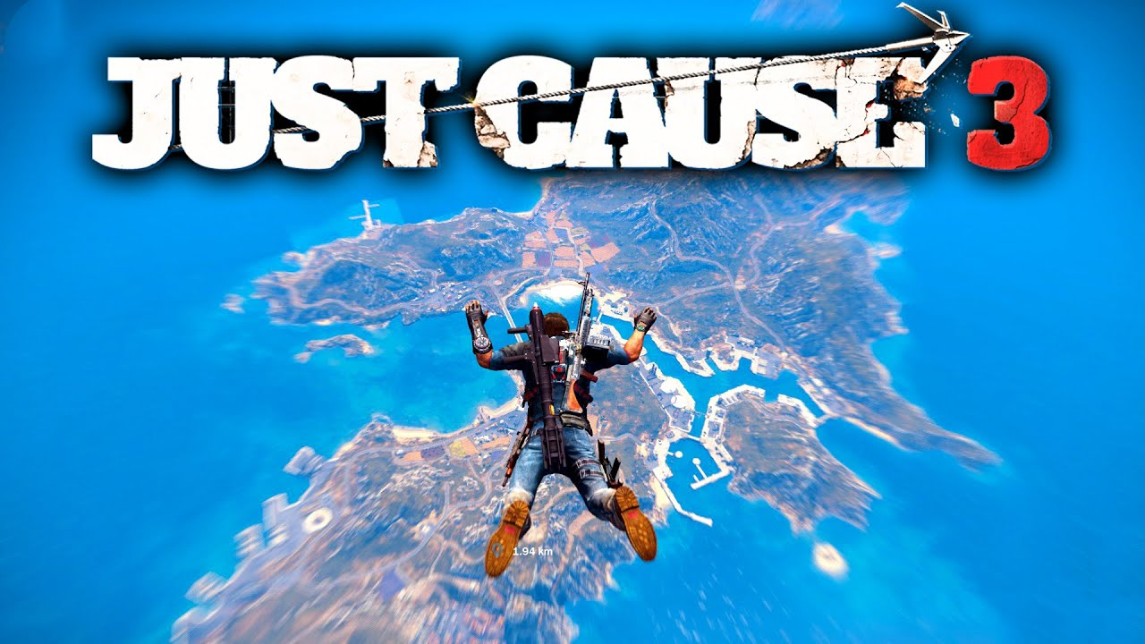 Mapa Just Cause 3.The Just Cause 3 Map Just How Big Is It Just Cause 3 Gameplay