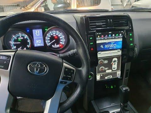 Магнитола Tesla Style Toyota Land Cruiser Prado 150