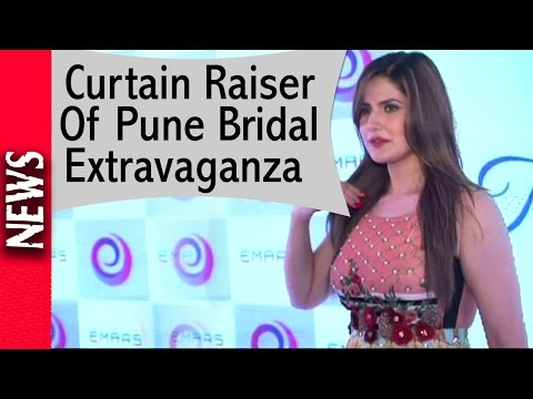 Latest Bollywood News - Zareen At Curtain Raiser Of Pune Bridal Extravaganza - Bollywood Gossip 2016