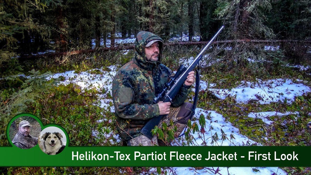 Helikon-Tex Patriot Jacke Double Fleece Flecktarn