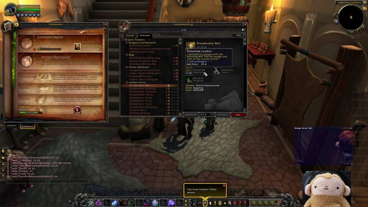 Legion beta crafting professions recipes tailoring legion beta crafting professions recipes tailoring leatherworking blacksmithing forumfinder Images
