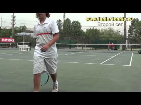 Moscow Cup 2012 Boys Doubles