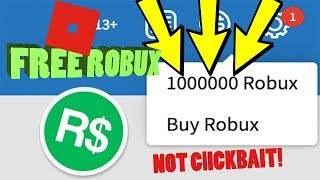 How to get free robux 2018 *NOT CLICKBAIT*