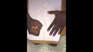 My know drawing Victoria secret fashion show