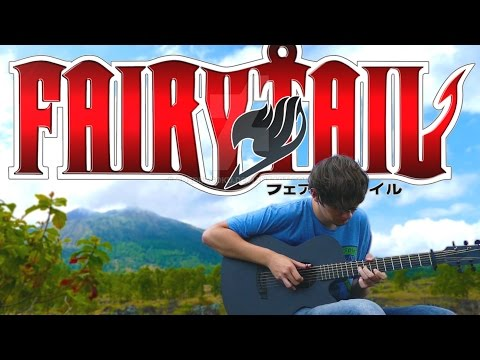 Fairy Tail OP1 - Snow Fairy - Fingerstyle Guitar Cover
