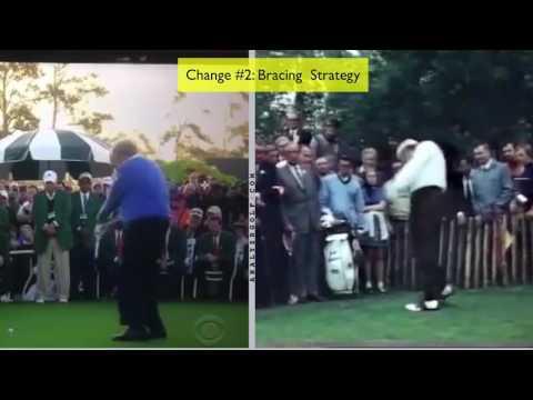 Young Jack Nicklaus vs Old Jack Nicklaus Golf Swing Analysis